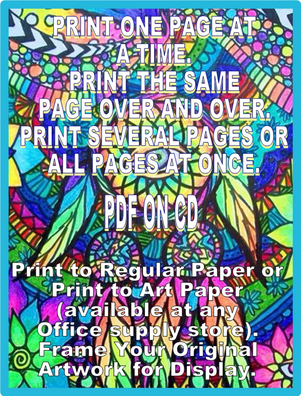 Psychedelic, Abstract, Trippy, Complex-300+ Printable ...